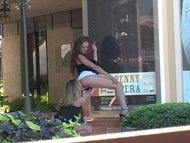 Lesbensex in der Öffentlichkeit